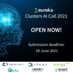 Eureka Clusters AI Call 2021 launched on 1st March